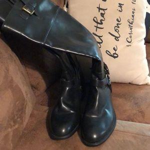 Chaps boots sz 8 b like new